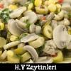 Zeytinli Mantar Salata