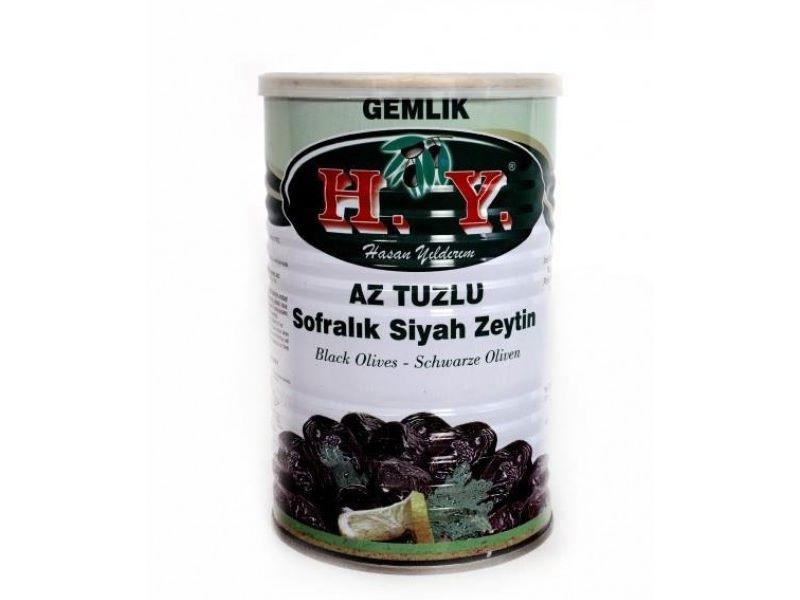 Az Tuzlu Siyah Zeytin Süper Doze 800 Gr. (291-320)